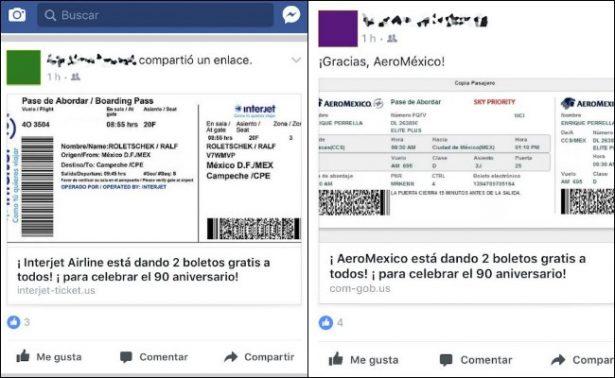 ¿Ganaste un viaje en Aeromexico o Interjet? cuidado, es un virus