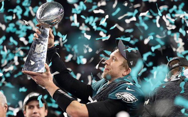 Nick Foles, de suplente a MVP del Super Bowl LII