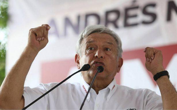 AMLO insiste: en cuanto gane la presidencia cancelará el nuevo aeropuerto