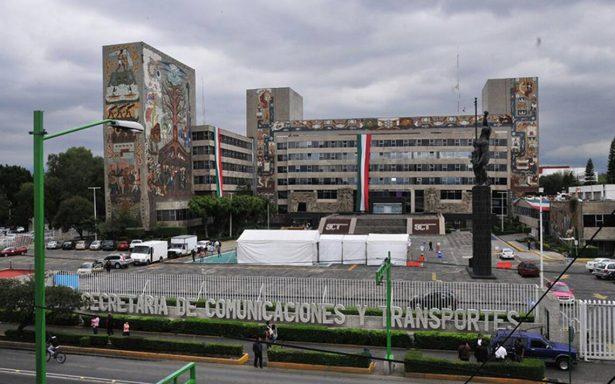 Altos funcionarios prevén demolición del edificio central de la SCT