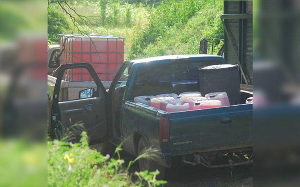 En sólo tres meses aumenta decomiso de huachicol Guanajuato: Policía Federal