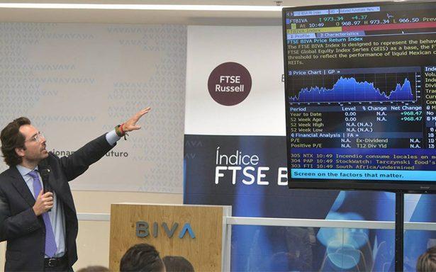 Anuncian índice FTSE BIVA