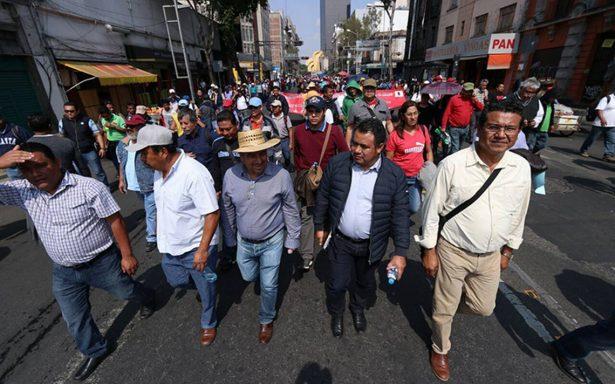 Manifestantes y evento deportivo complicarán tránsito en la capital