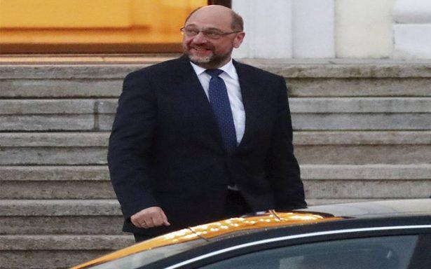 Aumenta la presión contra Shultz para formar gobierno con Merkel