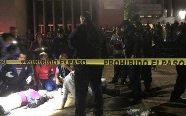 Balacera afuera de la delegación Cuauhtémoc deja una mujer muerta