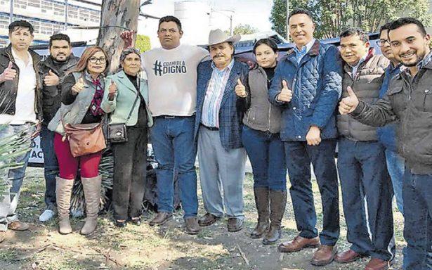 Memo Anaya instala plantón en el TEPJF; exige anular elecciones en Coahuila