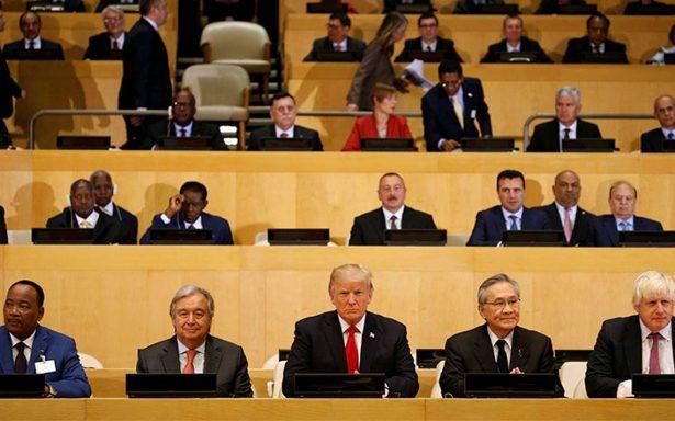 ONU está agobiada por la burocracia; urgen reformas: Trump