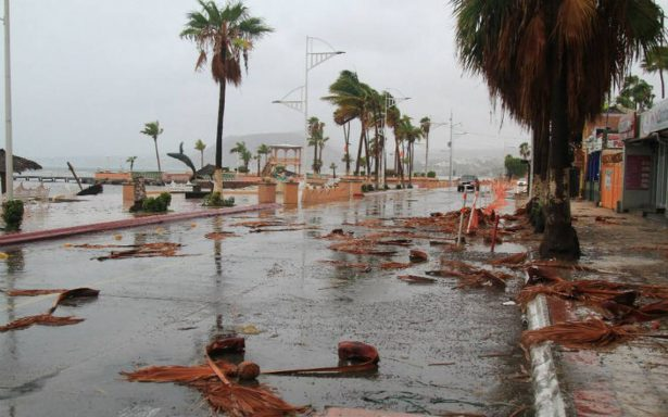 Termina emergencia por tormenta Lidia en cinco municipios de BCS