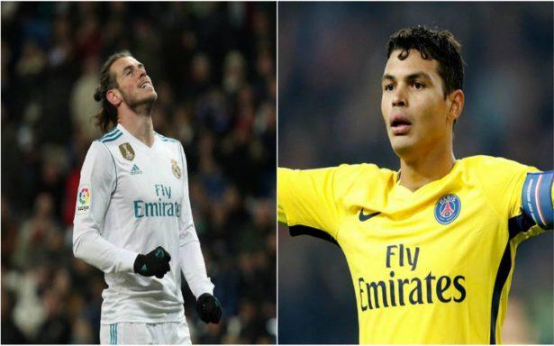 Bale y Thiago Silva serían suplentes en Real Madrid-PSG