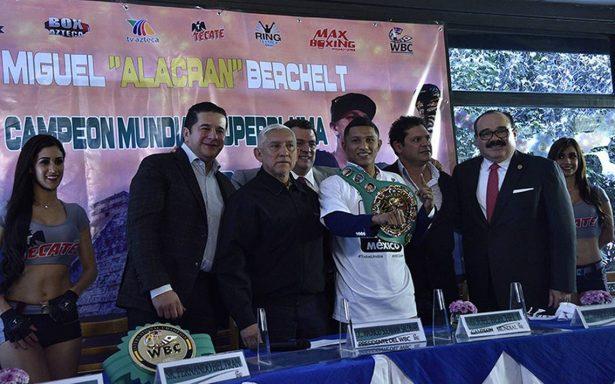 La pelea entre Berchelt-Román tendría como sede la imponente Arena Cd. de México