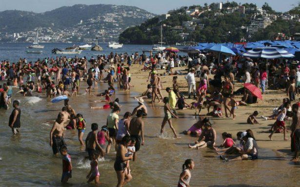 En 2017, 39.3 millones de turistas internacionales visitaron México