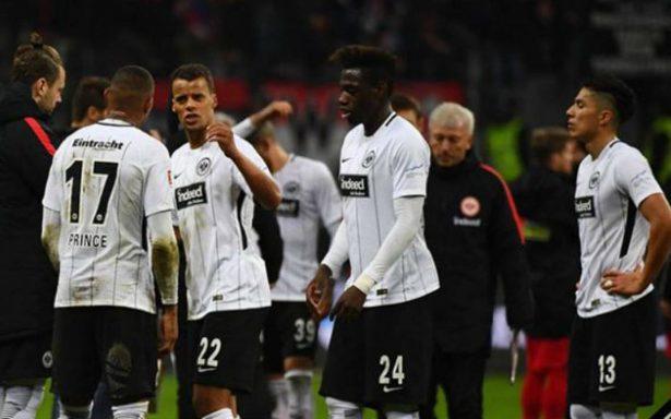 Eintracht y Salcedo consiguen valioso triunfo en Alemania