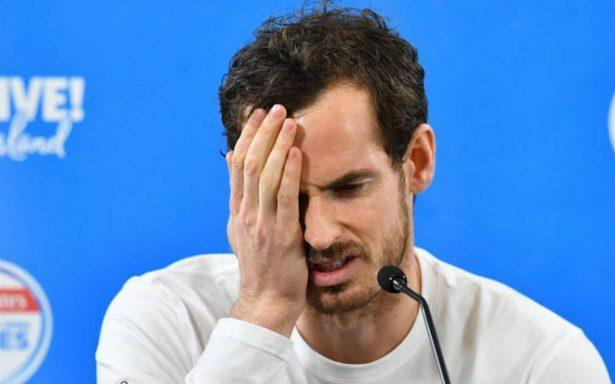 Andy Murray se despide del Abierto de Australia por lesión