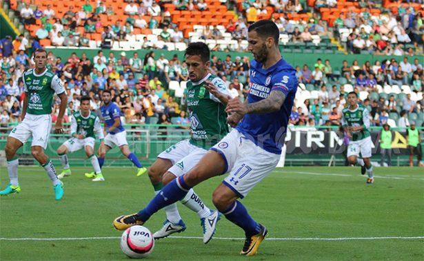 León le empata a Cruz Azul 2-2 de último minuto