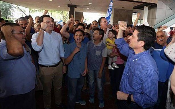 PAN protesta luego de que alcaldías de Guadalupe y Monterrey pasaron a manos del PRI