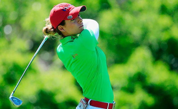 Golfista mexicana Gaby López logra segundo top ten del año en LPGA Tour