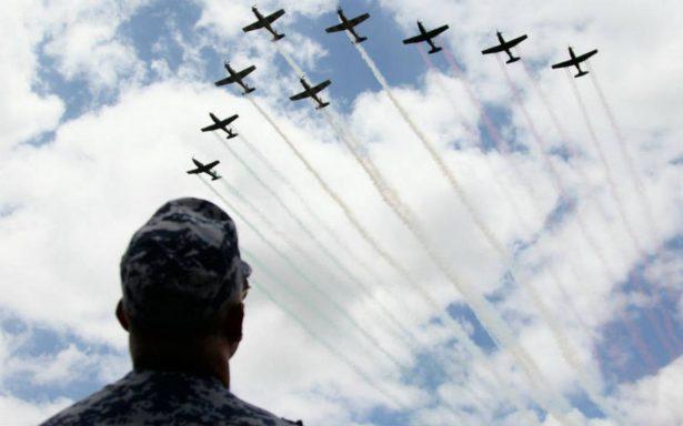 México cierra 2017 como el tercer país con la flota aérea militar más grande del continente