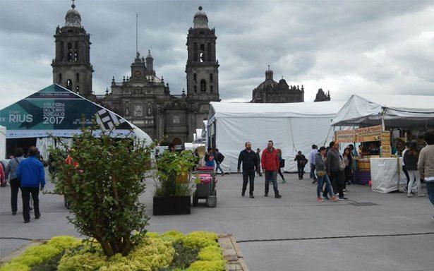 Feria Internacional del Libro en el Zócalo reanimará a capitalinos tras sismos