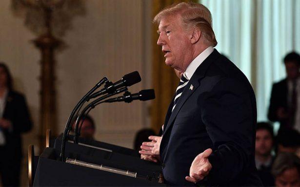 TLCAN va bien, podría haber un trato muy rápido, confirma Trump
