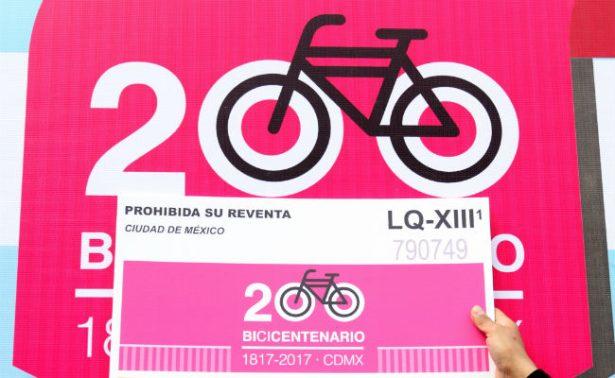 Metro conmemora con boleto especial los 200 años de la bicicleta