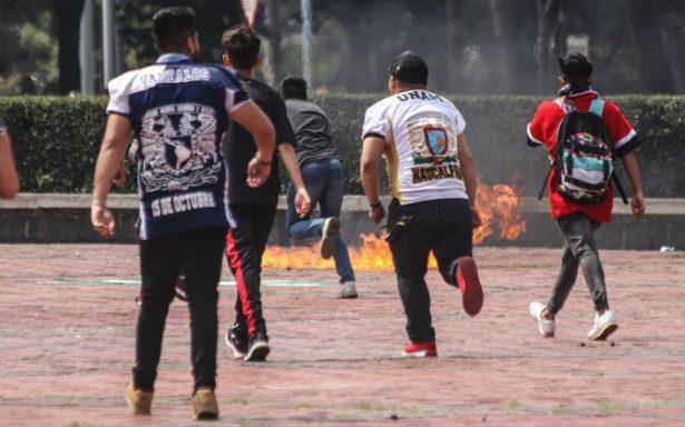 Vinculan a proceso a joven acusado de motín en la UNAM