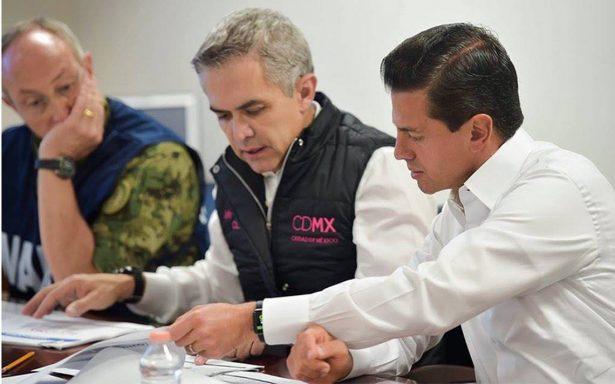 Mancera ofrece apoyo integral a familiares de víctimas en Álvaro Obregón