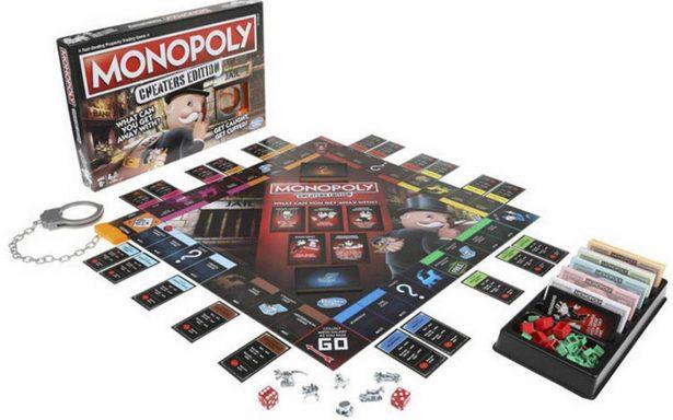 Hasbro lanza un Monopoly para los que siempre hacen trampa