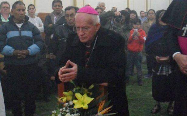 Obispo de San Cristóbal visitará a losdesplazados deChalchihuitán