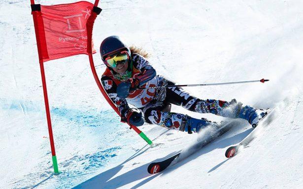 Esquiadora mexicana Sarah Schleper debuta en PyeongChang