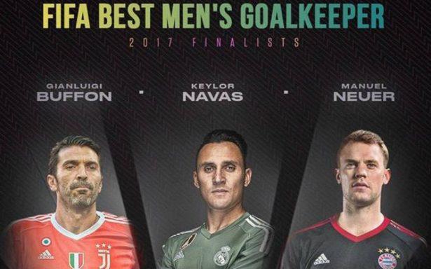 Buffon, Navas y Neuer, lo mejor de lo mejor en la portería