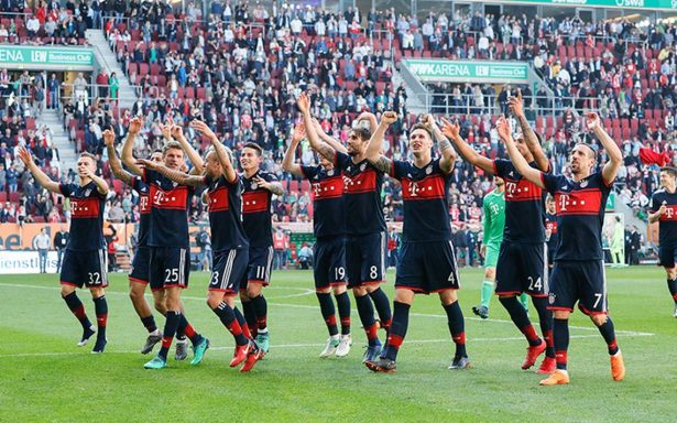 ¡Se corona otra vez! El Bayern gana su sexta Bundesliga