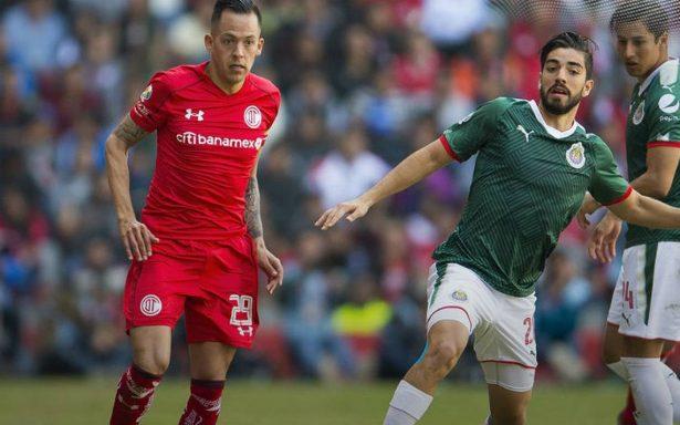 Toluca y Chivas reparten puntos en su debut en la liga