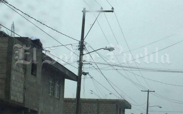 Mujer muere electrocutada durante las fiestas patrias en Puebla