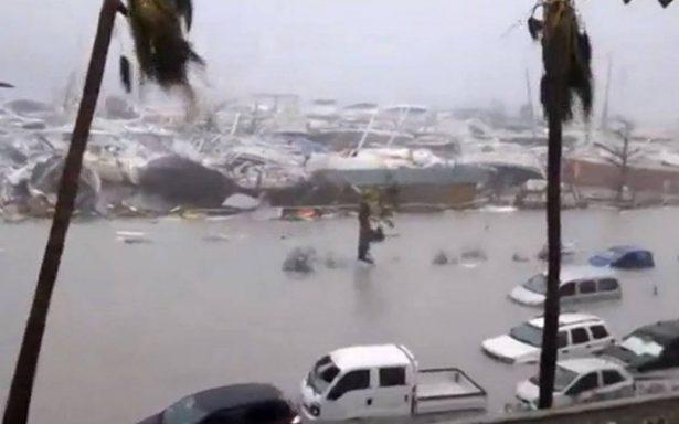 Así es el paso devastador del huracán Irma por el Caribe