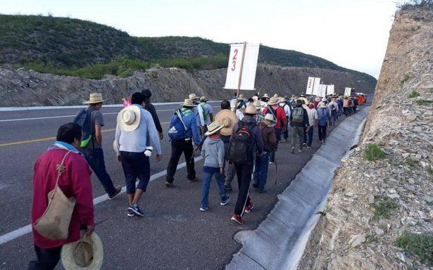 Suman mil 800 peregrinos queretanos rumbo al Tepeyac