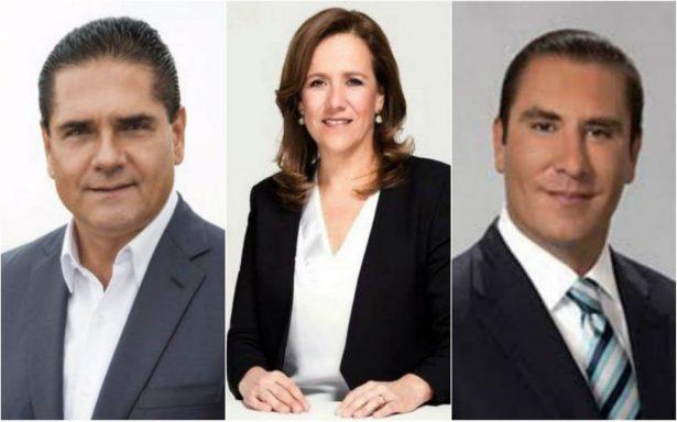 Moreno Valle, Zavala y Aureoles piden al Frente Ciudadano elección abierta de candidato