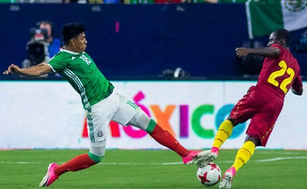 México se lleva la victoria ante Ghana en partido amistoso