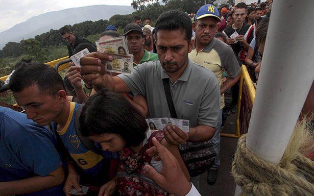 Llegan a Colombia más de un millón de venezolanos en los últimos 16 meses