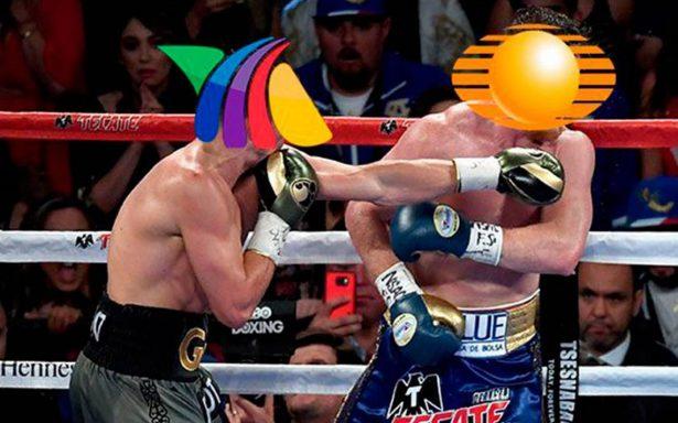 Y el ganador del rating con la pelea Canelo vs Golovkin es…