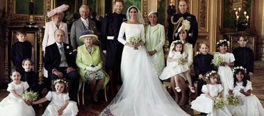 Estas son las fotos oficiales de la boda real entre Harry y Meghan