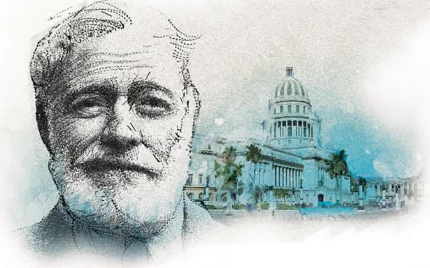 Ernest Hemingway, de paseo por La Habana