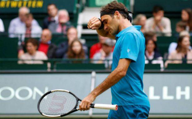 Federer pierde la final de Halle y cede el número 1 mundial a Nadal