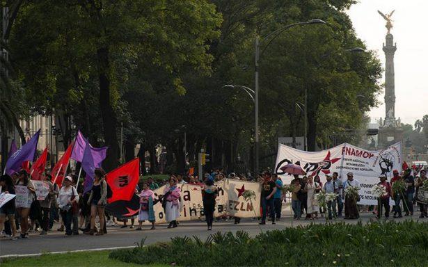 Manifestaciones complicarán tránsito vial en la Ciudad de México