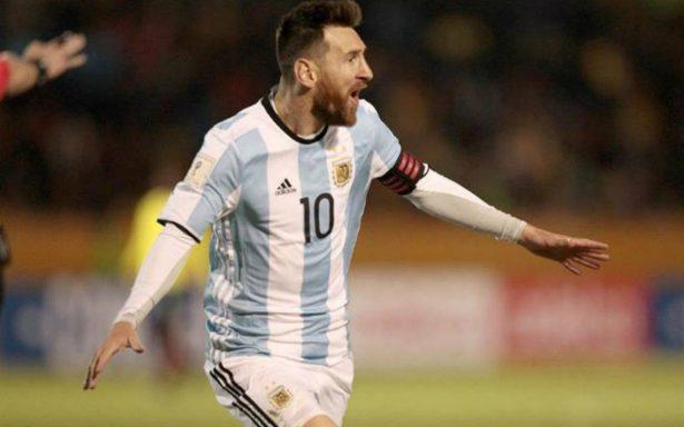 De la mano de Messi Argentina clasifica a Rusia 2018
