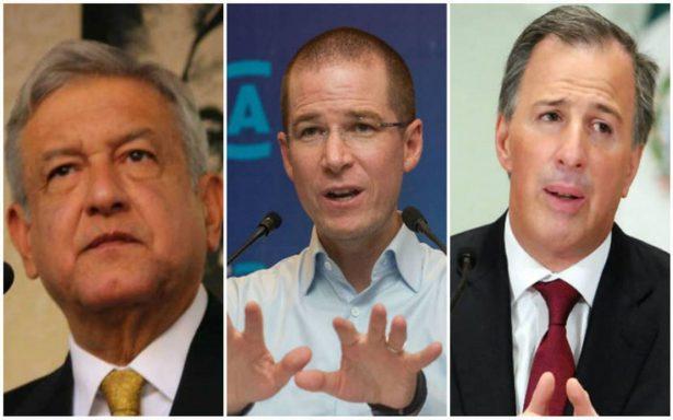 Candidatos reportan 124 mdp de gastos en primeros 11 días de campaña