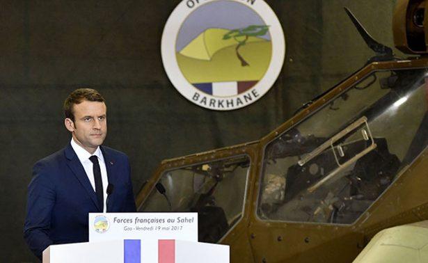 Enfatiza Macron lucha contra el yihadismo