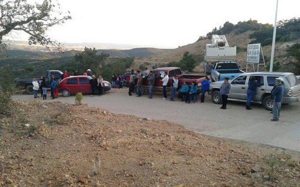 Pobladores de Chalchihuites reclaman daños en sus viviendas por el uso de explosivos