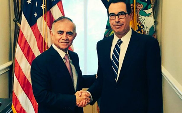 Alfonso Romo y Steven Mnuchin dialogan sobre relación bilateral