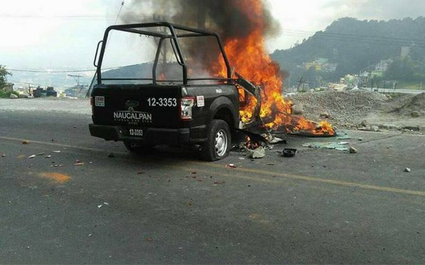 Atacan a policías en Naucalpan por detención de presuntos secuestradores
