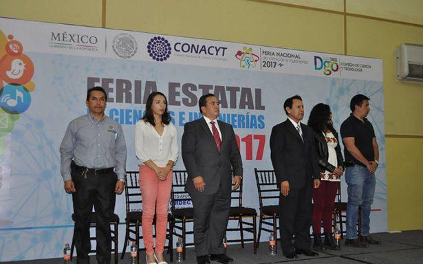 Realizan Feria de Ciencias en Durango